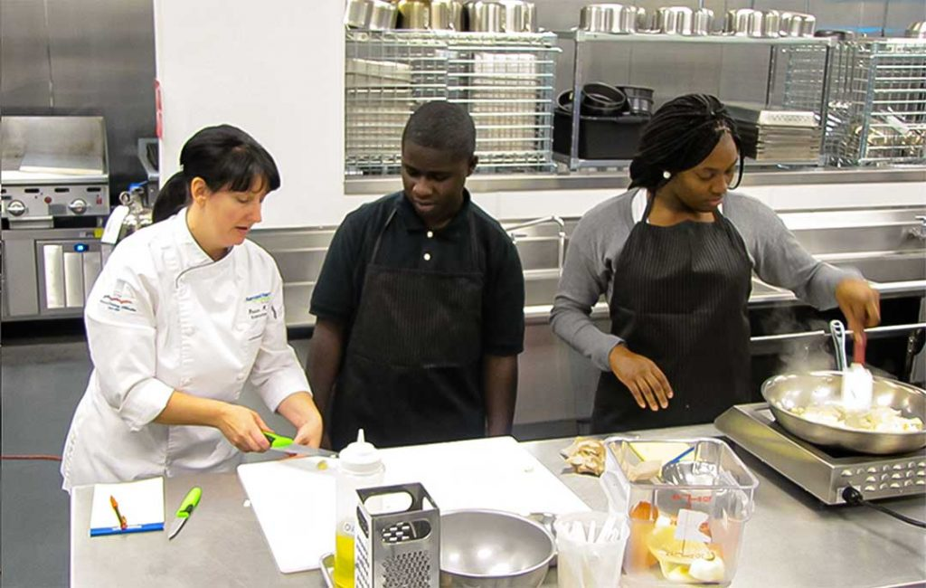 100 Women Strong Funds Nutrition and Culinary Arts Training Program for High School Students